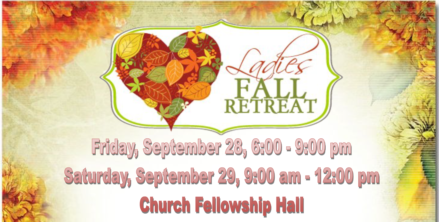 Mohican Ladies Fall Retreat