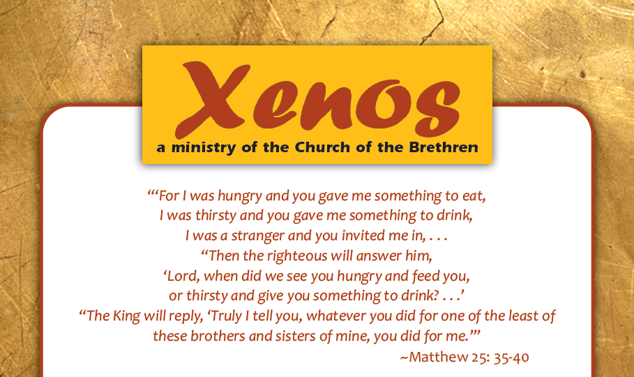 Xenos a ministry of the Church of the Brethren