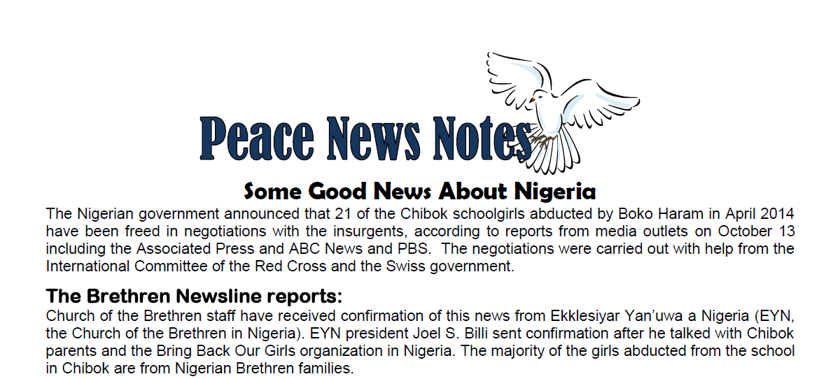 Some Good News About Nigeria