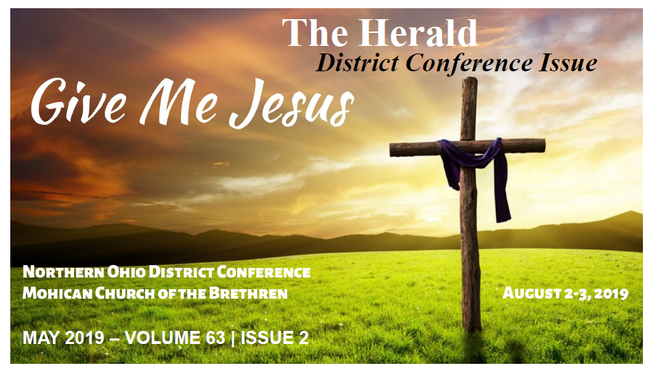 May 2019, District Conference Issue