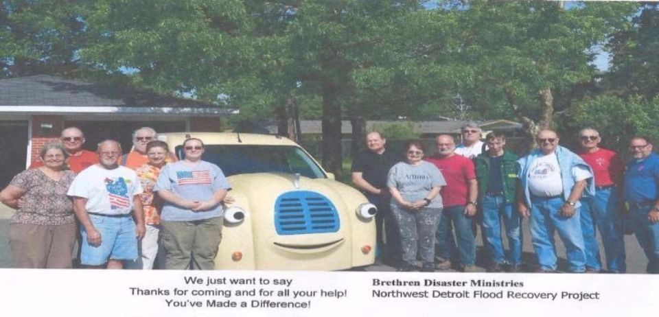 Brethren Disaster Ministry Project 2016